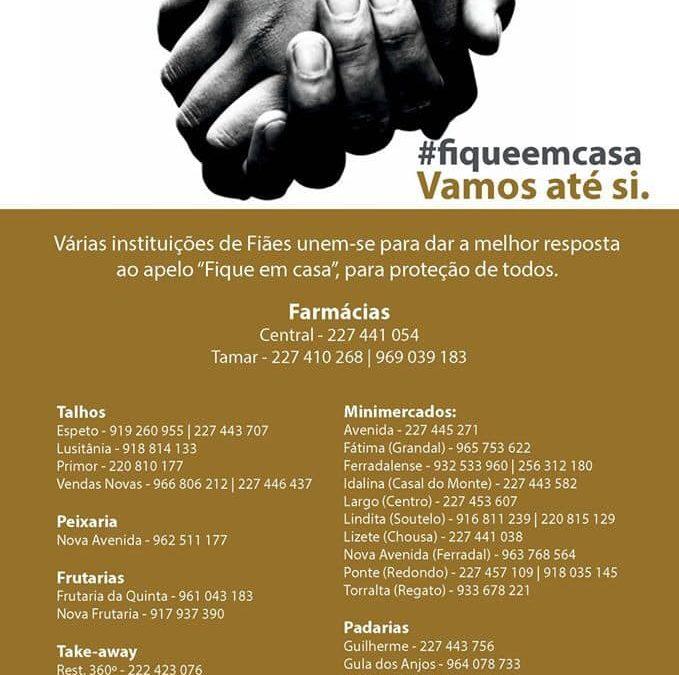 #fiqueemcasa   Nós vamos até si!!!